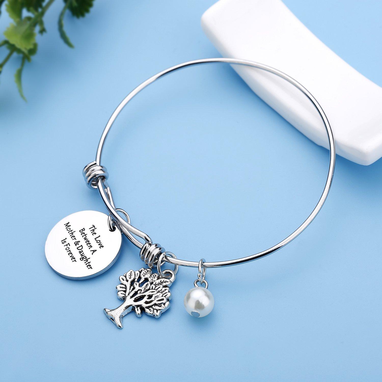 Family Tree mother daughter bracelets