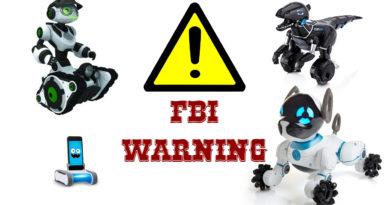 FBI warning So dangerous is technical toys