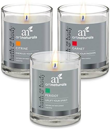 Scented candle for romantic night