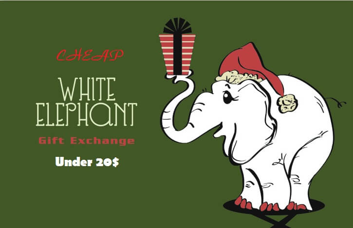 Cheap white elephant gift ideas under 20$