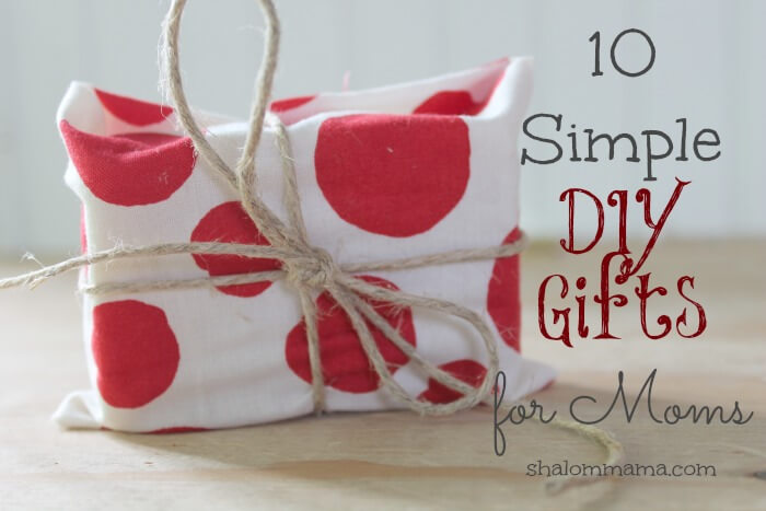 10 easy Handmade Gift for mom