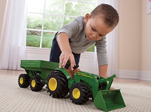 Kids Don't Have to Be from the Midwest to Want Custom Farm Toys