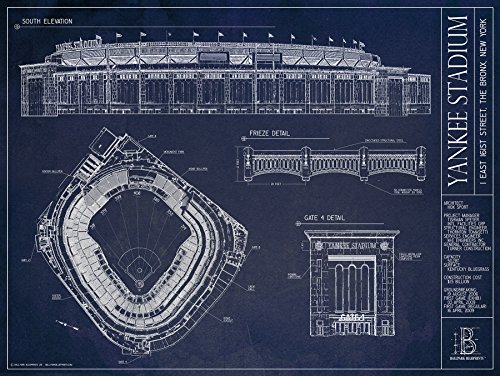 All you need to find the best gifts for baseball lovers gifts baseball stadium blueprint malvernweather Gallery