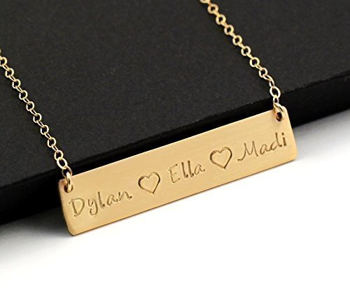 Mother necklace with kids names