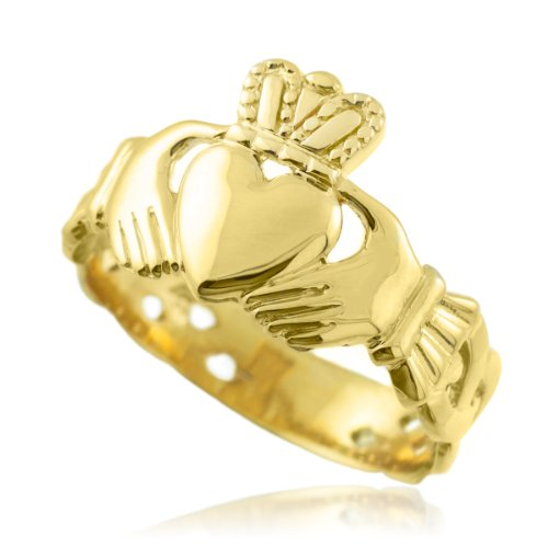 gold crown promise rings