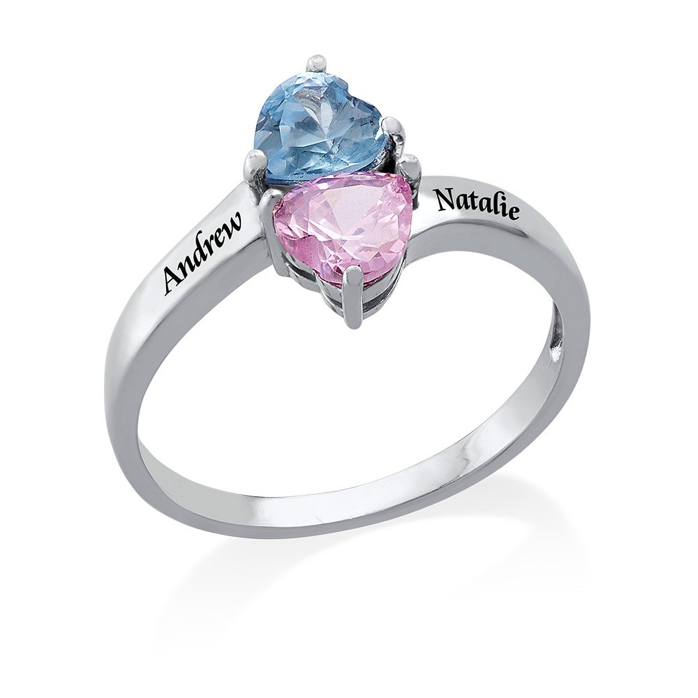Mothers ring 2 stones