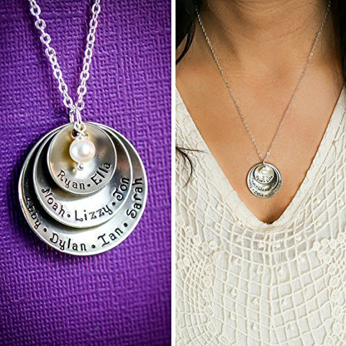 Grandchildren necklace
