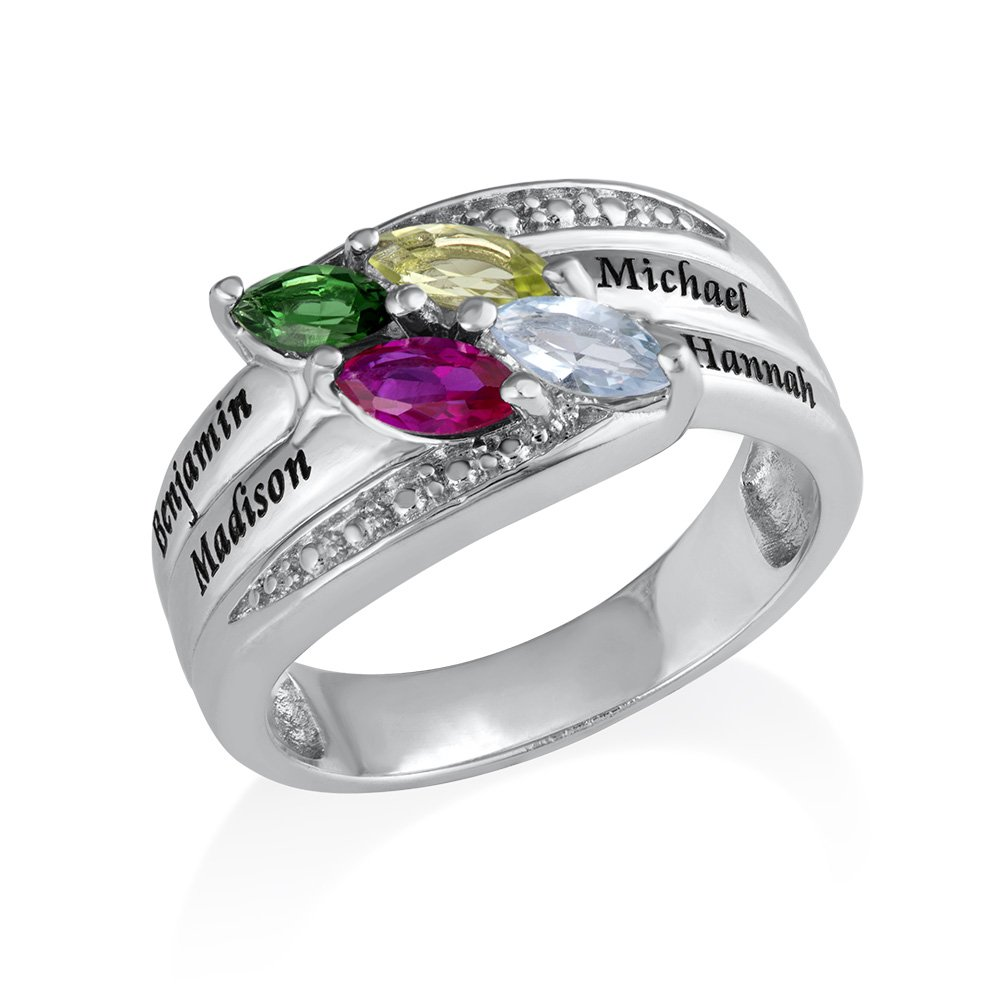 The best Birthstone Rings For Mom Will Make You Tons Of ...
