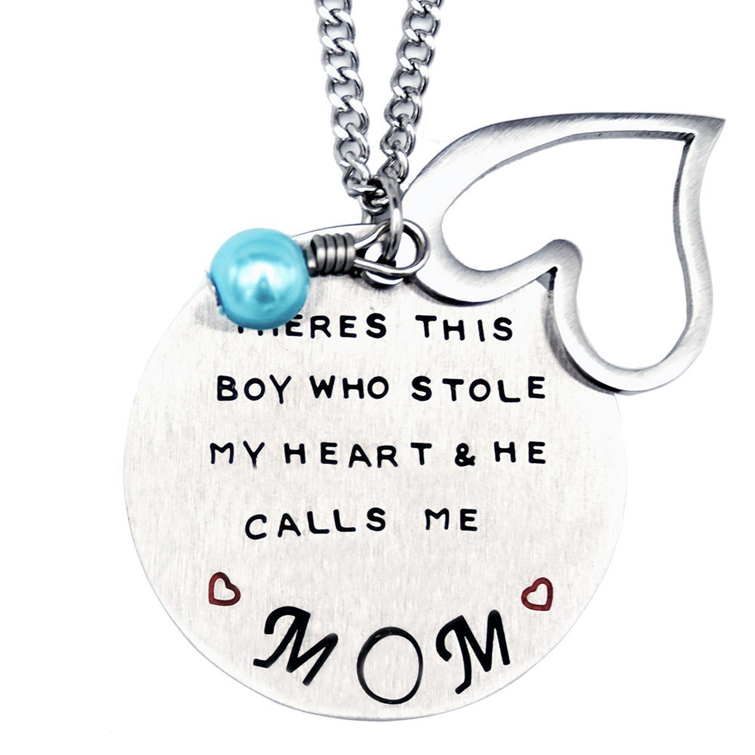 Mother and sons necklace