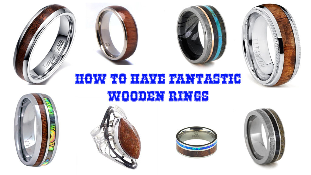 Fantastic Wooden Rings