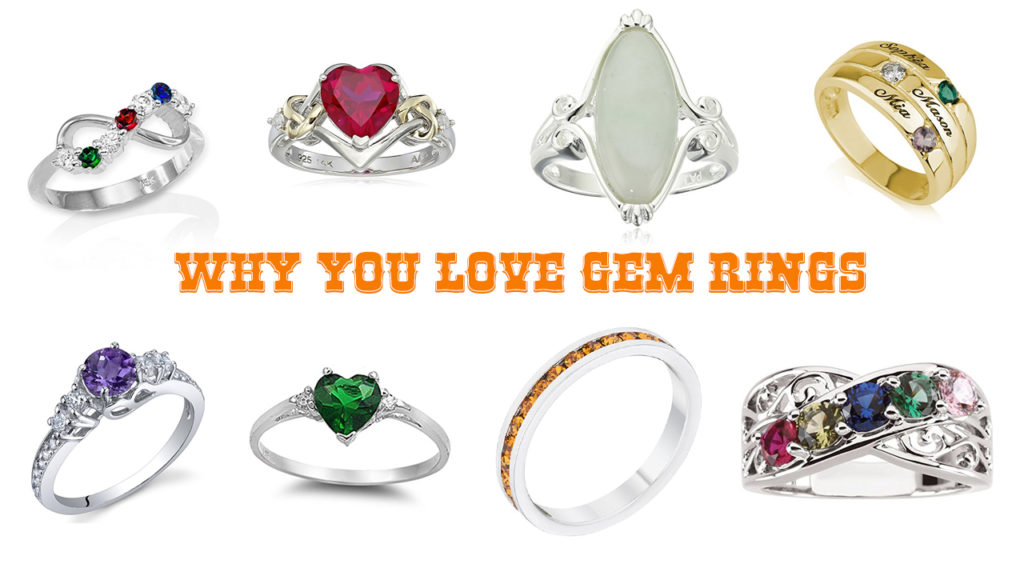 Why you love awesome gem rings