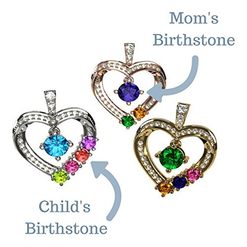 Children birthstone necklace