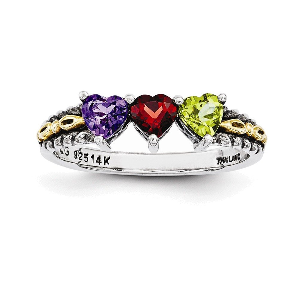 3 stone mothers ring