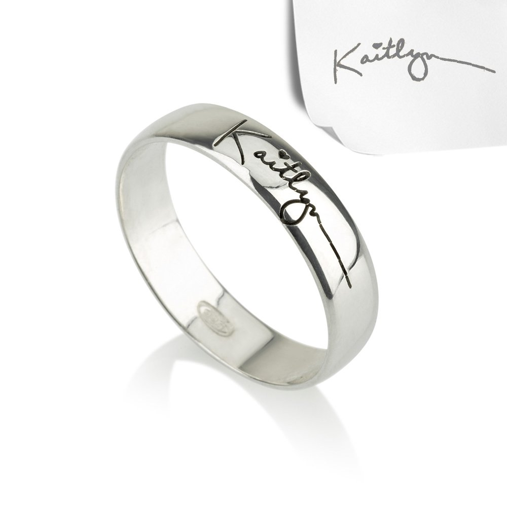 Personalized Signature Ring