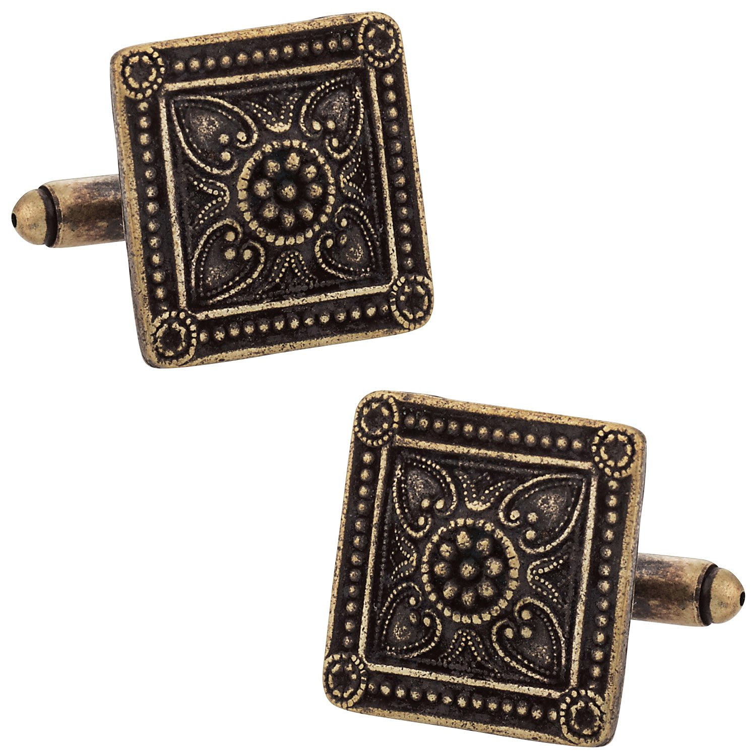 Brozen Cufflinks for 8th wedding anniversary gifts