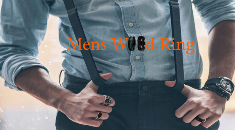 mens wooden rings