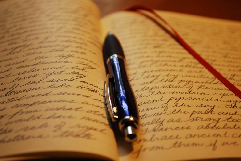Writing for your journal