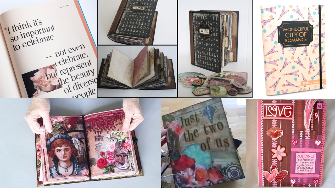 romantic journal for a gift
