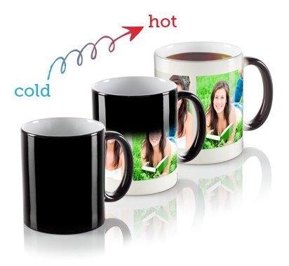 Personalize Color Changing Mug with your beautiful image