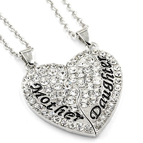Mother daughter necklace sets
