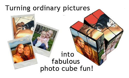 Customized puzzle cube with your lovely photos