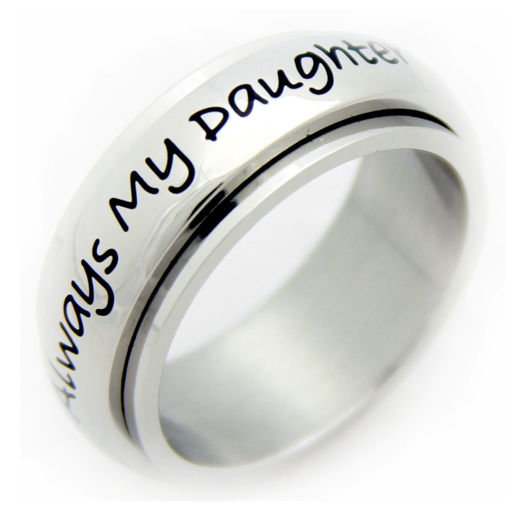 Mother Daughter Spinner Ring