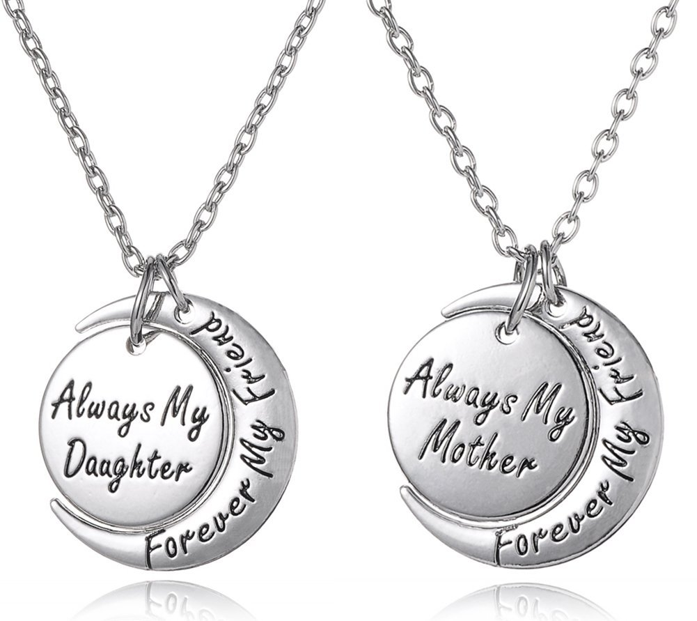 Silver Tone Matching Necklace Gift Set