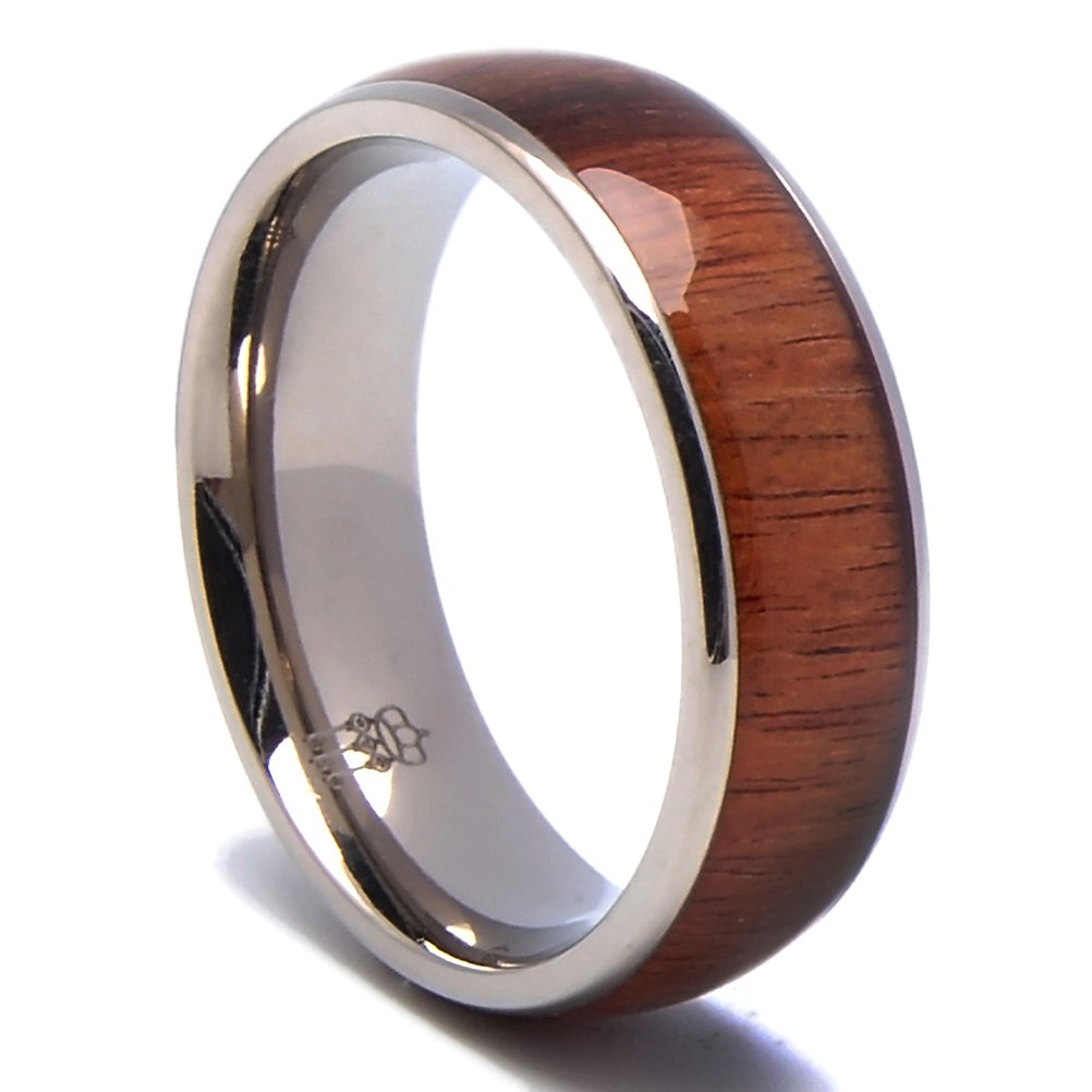 Wooden ring for men