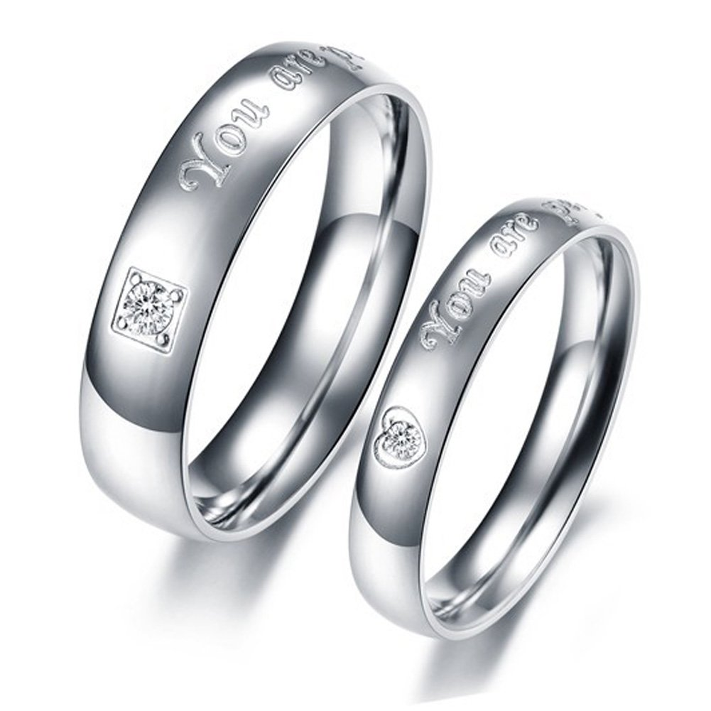 Inscribing a message to your personalized ring