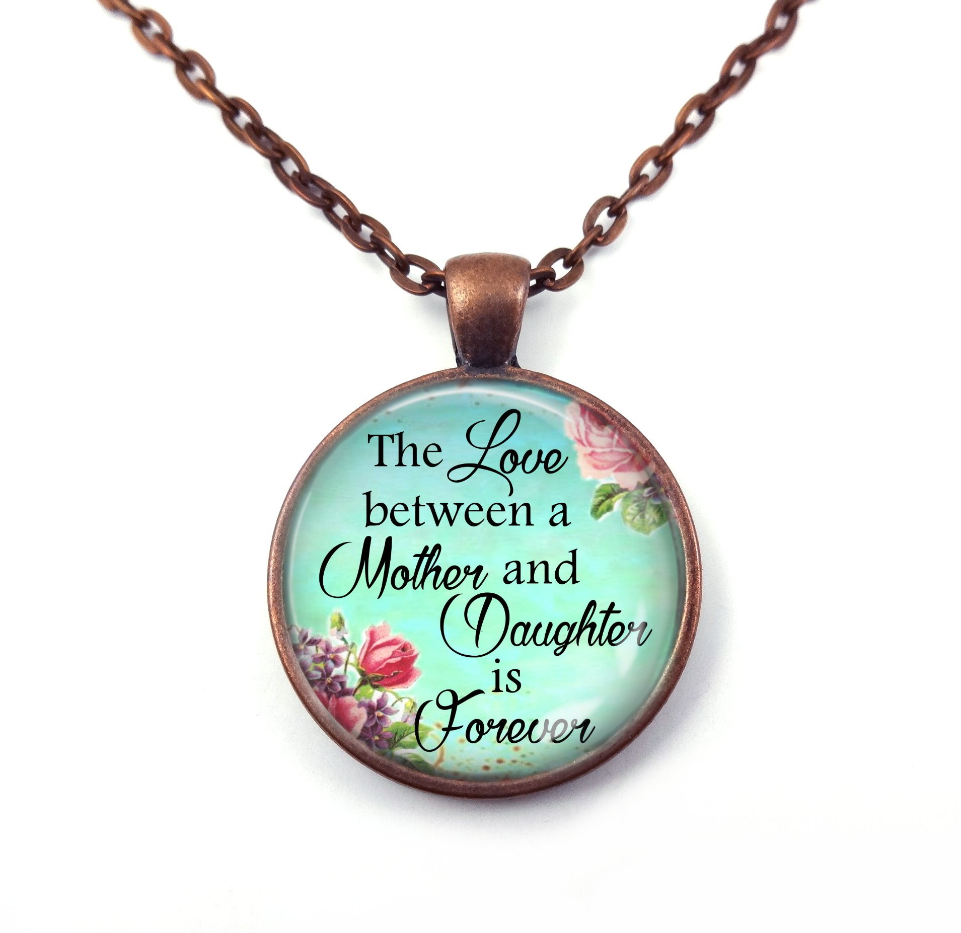 Antique Love between Mother & Daughter is Forever Pendant