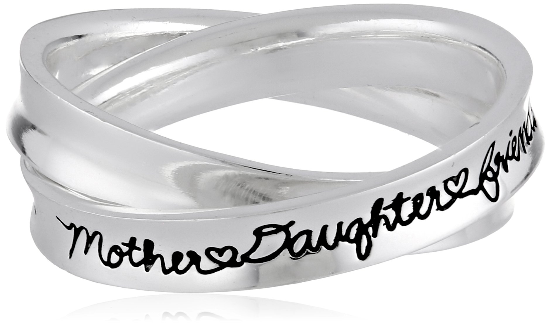 Mother and daughter rings