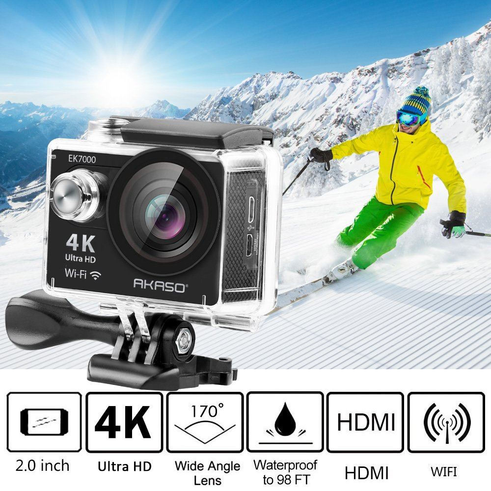 Action camera best gift for my girlfriend who love outdoor activity