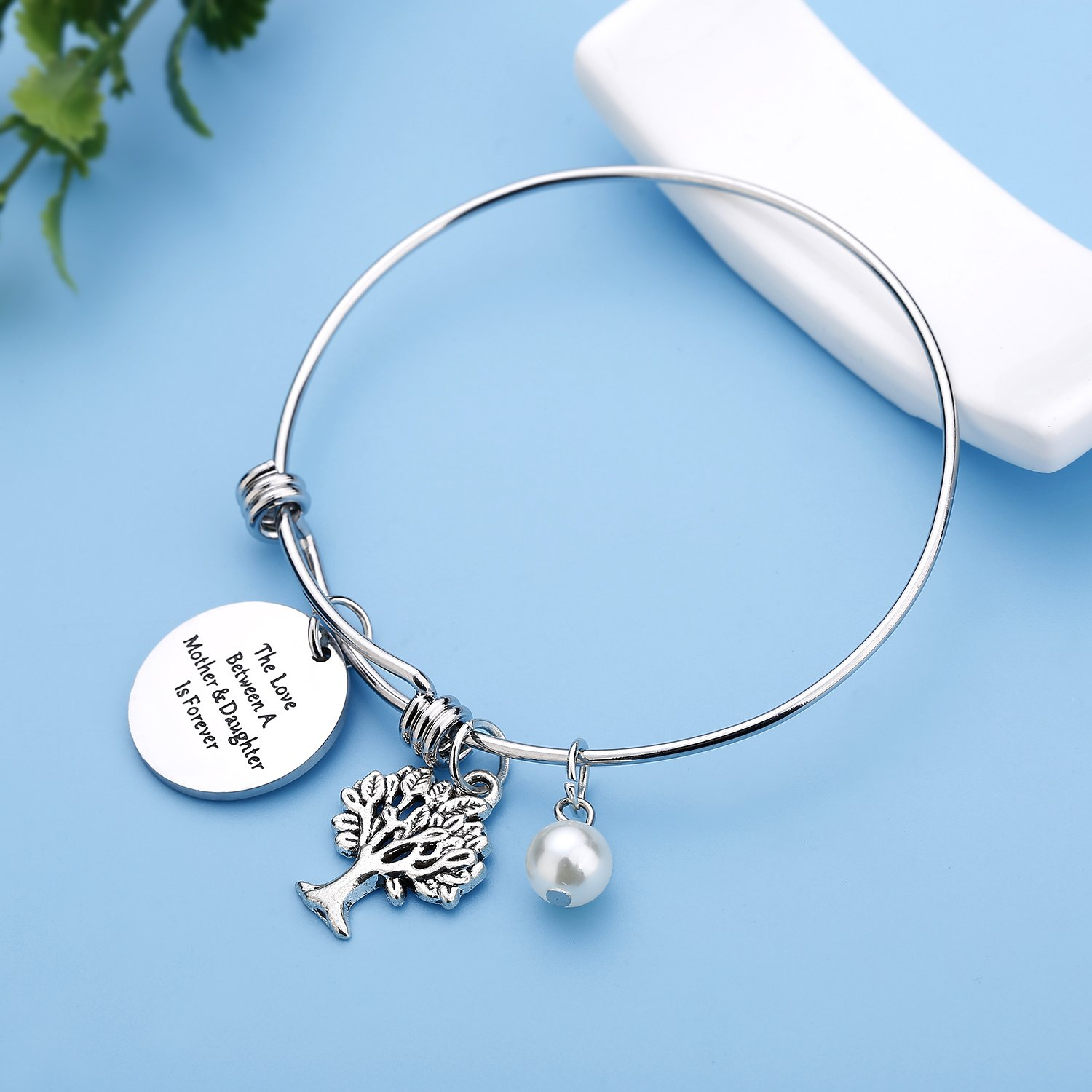 Family Tree mother daughter bracelets