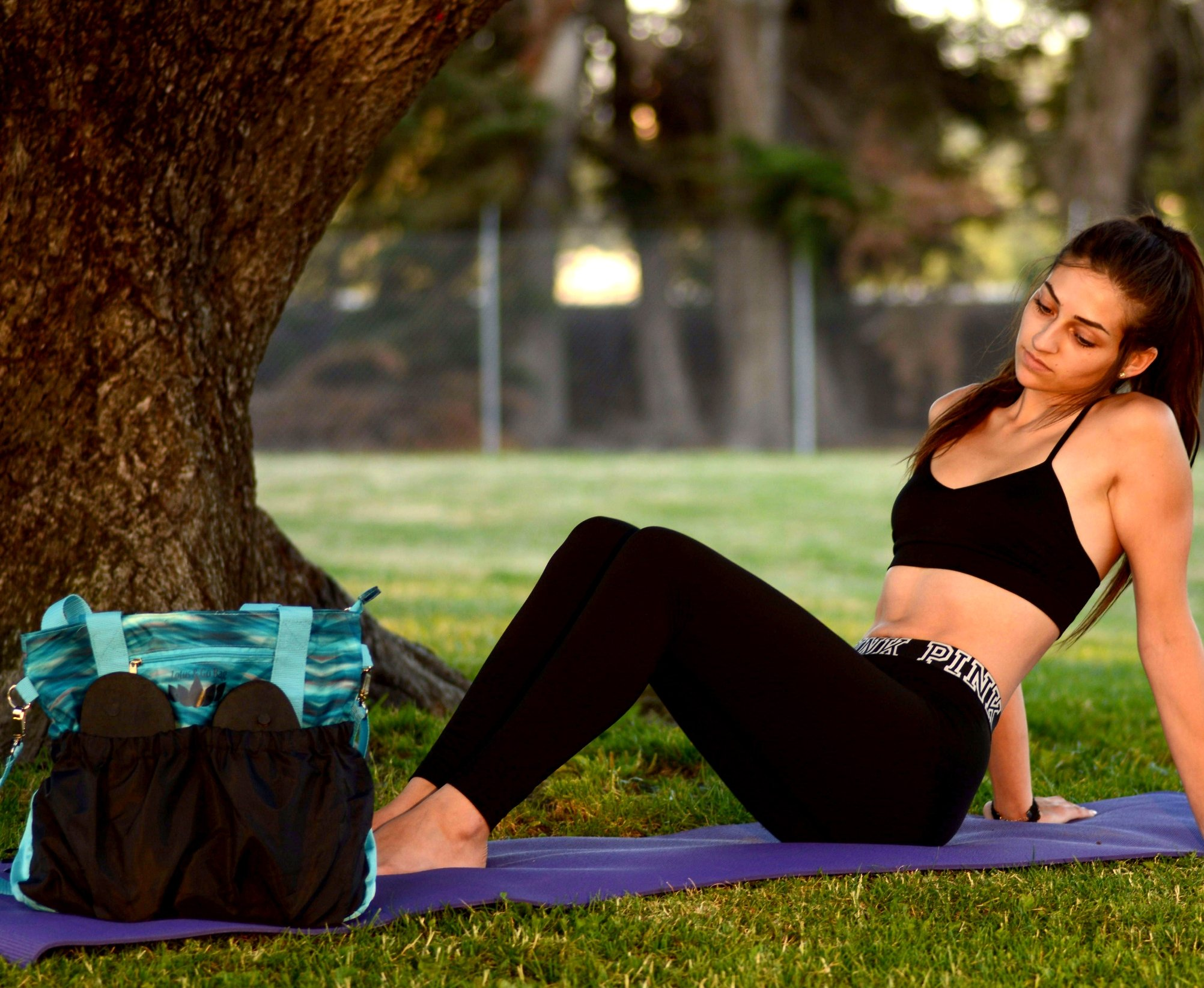 Yoga bags are gifts to send your girlfriend who loves yoga