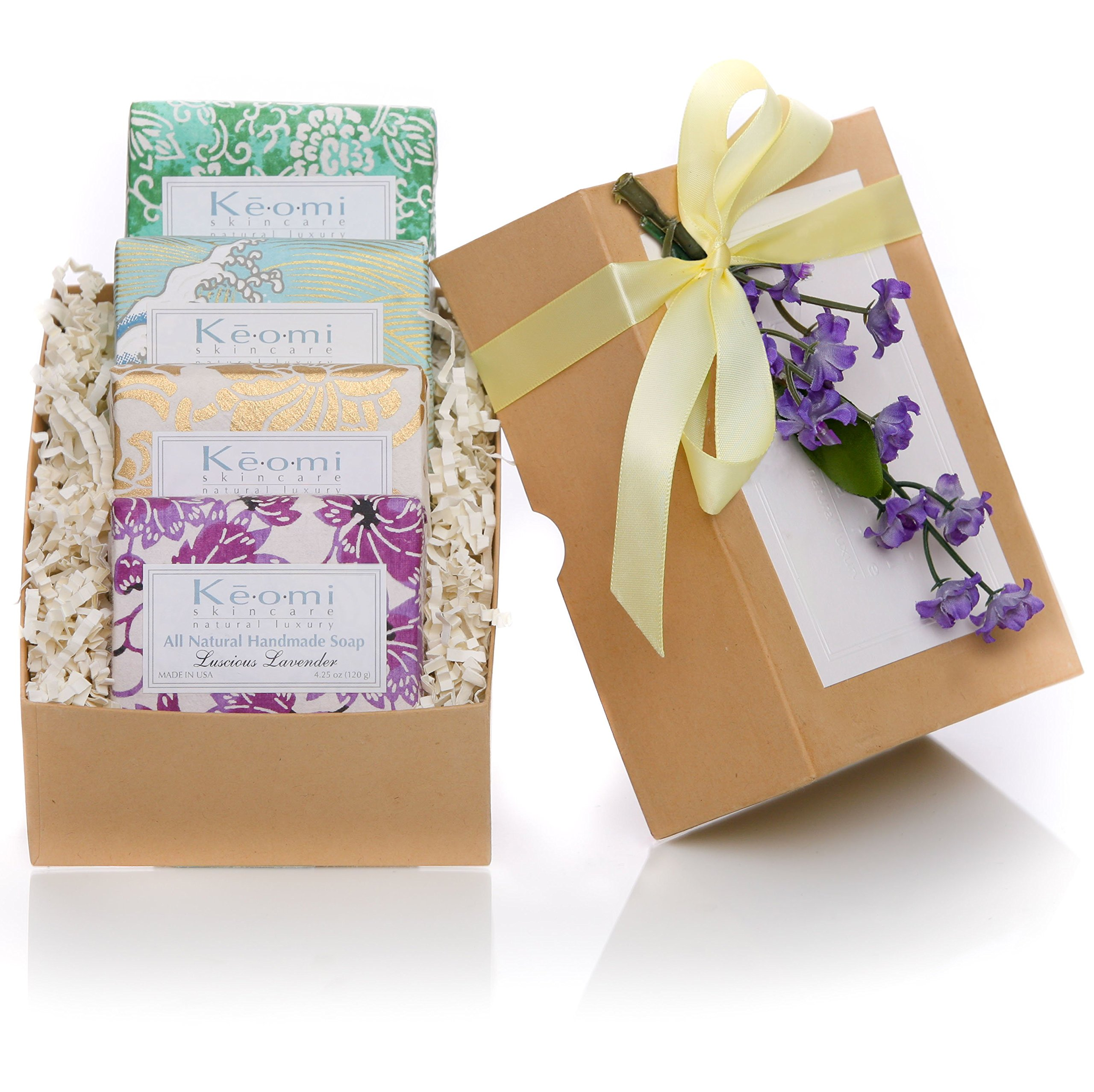 Soaps gift baskets for her