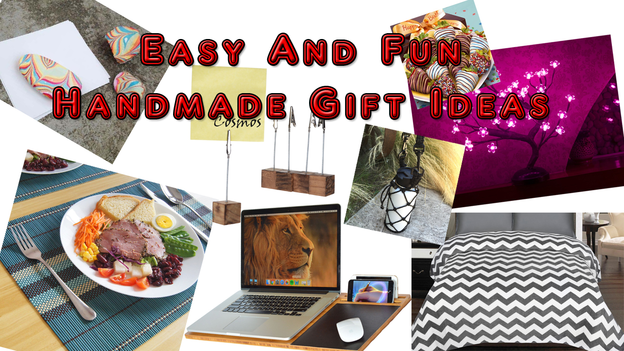 Easy And Fun Handmade Gift Ideas for Men