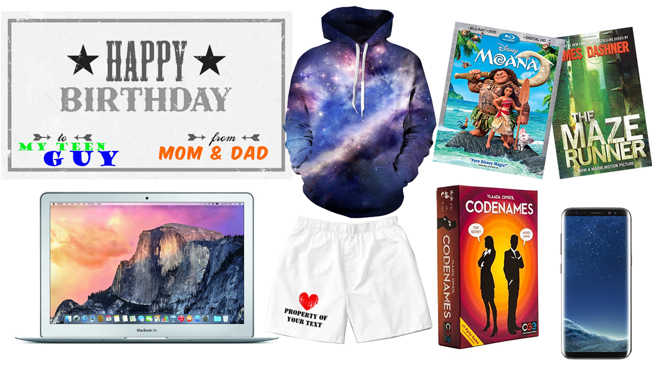 Good Birthday Gifts For Teenage Guys