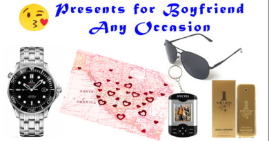 Presents for boyfriend any occasion ideas