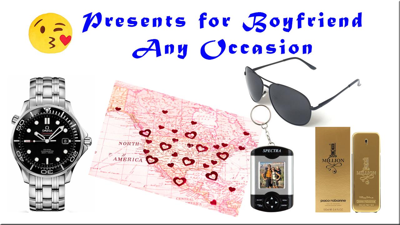 Presents for boyfriend any occasion ideas