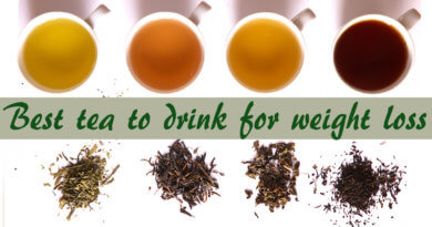 The best tea to drink for weight loss