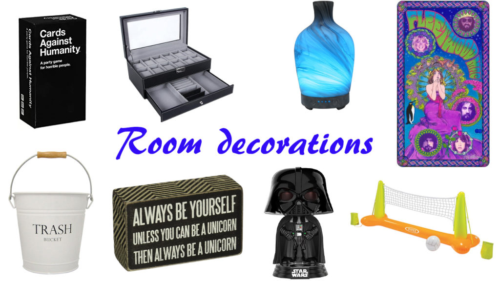 Room decoration for him