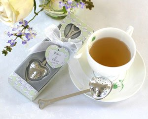 Heart Tea Infuser in Tea Time Gift Box Image