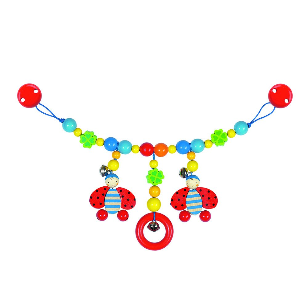 """Colorful """"Ladybird"""" Stroller Chain"""