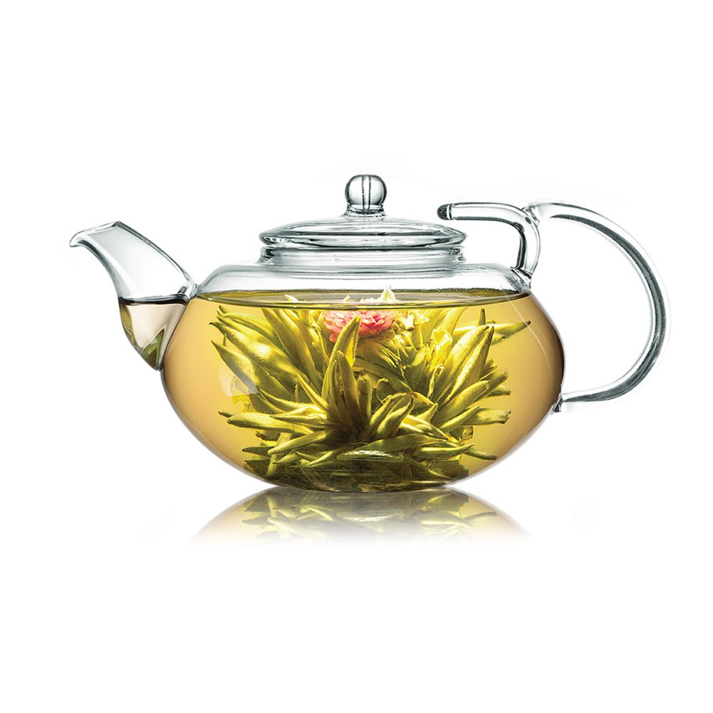 Blooming Tea in teapot for a tea lover Gift