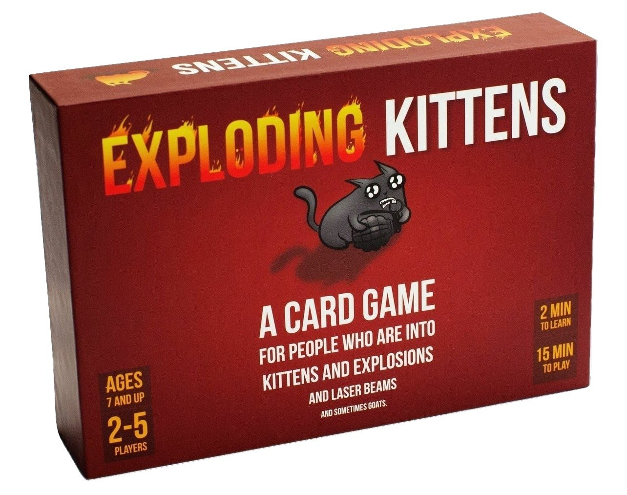 Exploding Kittens Board game for children 7 years and up
