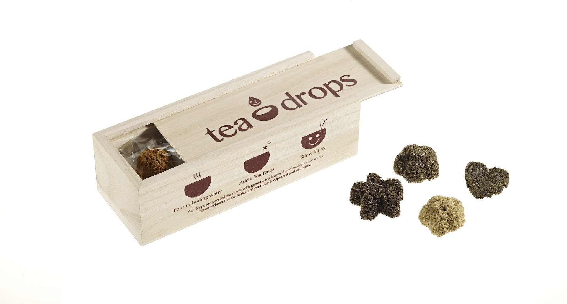 Tea Drops and Sampler Box Image