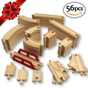 Compatible Wooden Train Tracks Image
