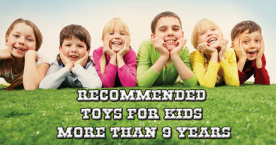 Recommended toys for Kids More than 9 years