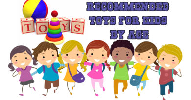 Recommended toys for kids by age