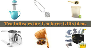 Tea infusers for tea lover gifts ideas